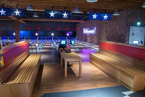 acoustic flooring for bowling alleys